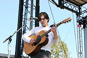 June 16, 2006; Manchester, TN.  2006 Bonnaroo Music Festival..Bright Eyes peforms at Bonnaroo 2006.  Photo by Bryan Rinnert