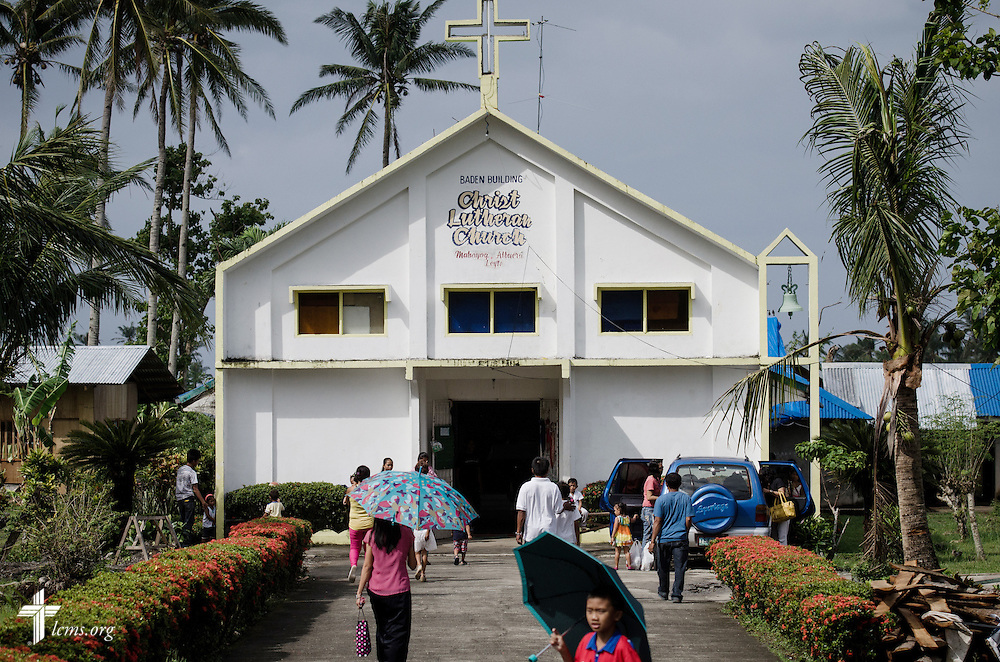 Christ Lutheran Church in Mahayag, Leyte Province, Philippines, on Sunday, March 16, 2014. LCMS Communications/Erik M. Lunsford
