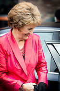 26-9-2014 - EDE - Princess Margriet of the Netherlands opens Friday September 26, 2014 the official opening of the new construction of Residential, Care and Service Bethany in Ede. COPYRIGHT ROBIN UTRECHT