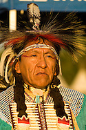 Traditional Dancer, Crow Fair, powwow, Crow Indian Reservation, Montana