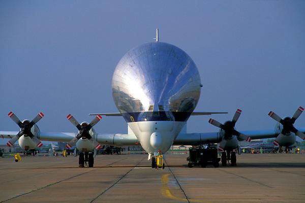 Airplane at Ellington Field