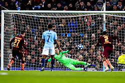 Andrej Kramaric of Hoffenheim scores a goal to make it 1-0 - Mandatory by-line: Robbie Stephenson/JMP - 12/12/2018 - FOOTBALL - Etihad Stadium - Manchester, England - Manchester City v Hoffenheim - UEFA Champions League Group stage