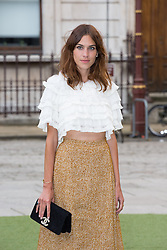 Image ©Licensed to i-Images Picture Agency. 04/06/2014. London, United Kingdom. Royal Academy Summer Exhibition Preview Party. Alexa Chung arrives to the Summer Exhibition Preview Party at the Royal Academy of Arts. Picture by Daniel Leal-Olivas / i-Images