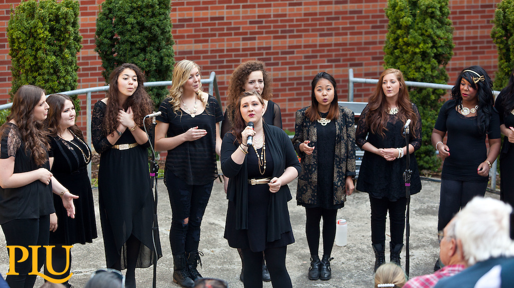 HERmonic final concert at PLU on Friday, May 8, 2015. (Photo: John Froschauer/PLU)