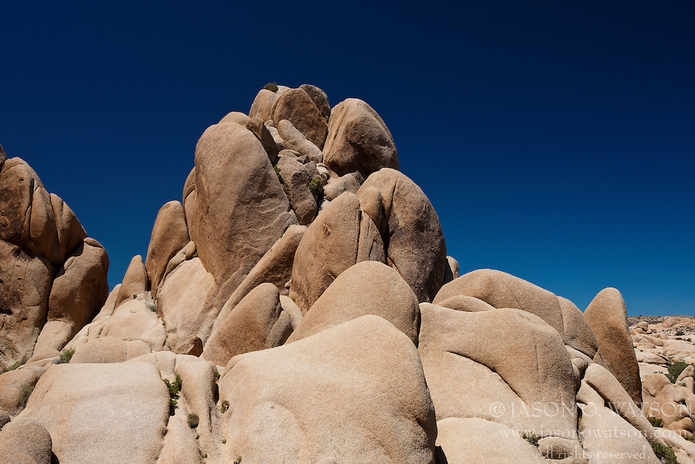 Rock formation, Joshua Tree National Park, California, United States of America