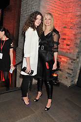 DAISY BEVAN and her mother JOELY RICHARDSON at A Night of Funk & Soul in aid of Save The Children held at The Roundhouse, Camden, London on 20th March 2013.