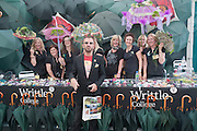 RINGO STARR IN FRONT OF WRITTLE COLLEGE STAND, Press view of the 2010 Chelsea Flower Show. Royal Hospital Rd. London. 24 May 2010. -DO NOT ARCHIVE-© Copyright Photograph by Dafydd Jones. 248 Clapham Rd. London SW9 0PZ. Tel 0207 820 0771. www.dafjones.com.