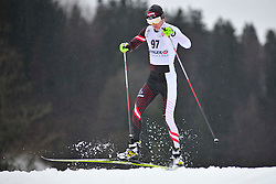 CHOKHLAEV Stanislav Guide:  PIROGOV Maksim, RUS at the 2014 IPC Nordic Skiing World Cup Finals - Long Distance