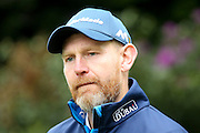 Scottish golf professional Stephen Gallacher  during the BMW PGA Championship Celebrity Pro-Am Day at the Wentworth Club, Virginia Water, United Kingdom on 25 May 2016. Photo by Simon Davies.