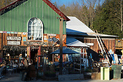 Hillbilly Recycling store in Bridgewater, Vermont, New England, USA