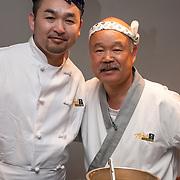 Chef Hidekazu Tojo (Right)