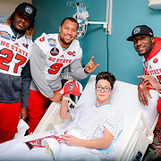 NC State visit to the Hospitals of Providence Children's Hospital
