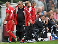 15-07-2008 VOETBAL:CSKA SOFIA - WILLEM II:TILBURG<br /> Head coach / Trainer Dimitar Penev<br /> Foto: Geert van Erven