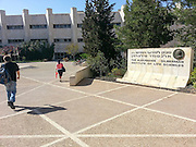 The Hebrew university of Jerusalem (HUJI) Edmund J Safra Campus, Givat Ram Jerusalem, Israel
