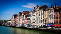 Looking across the River Nive in Bayonne, France<br /> <br /> (c) Andrew Wilson | Edinburgh Elite media