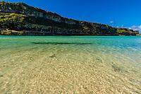 Lekiny Cliffs, Island of Ouvea, Loyalty Islands, New Caledonia