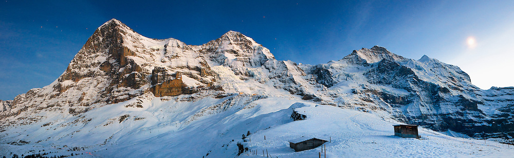Eiger M&ouml;nch Jungfrau Panorama<br />