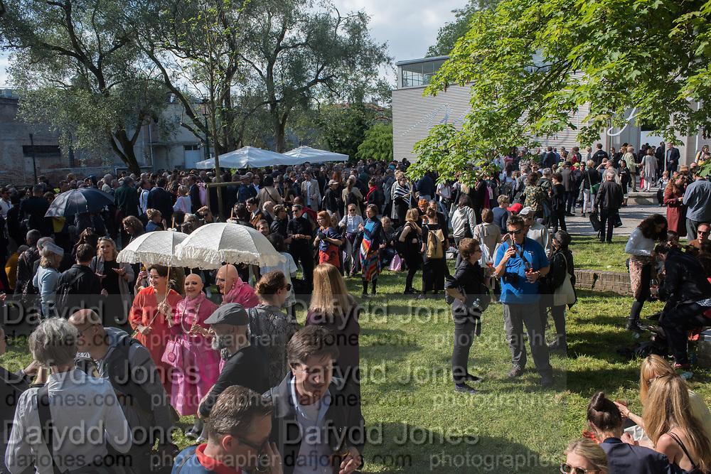 Austrian opening, Opening of the Venice Biennale, Giardini, Venice, 9 May 2019