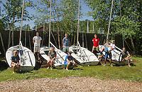 Lake Winnipesaukee Sailing Association gears up for the 2015 sailing season.  Karen Bobotas for the Laconia Daily Sun