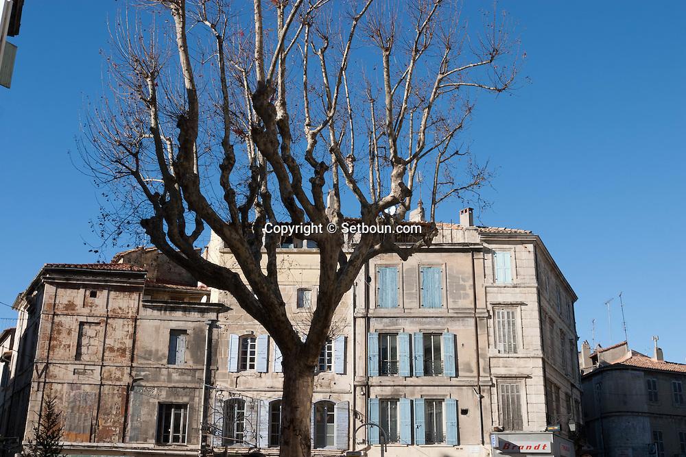 France. Bouches du Rhone.Arles the old city  France    /  la vielle ville Arles  France