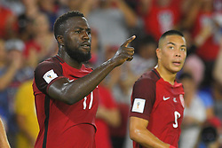 October 6, 2017 - Orlando, Florida, USA - United States forward Jozy Altidore (17) celebrates one of his two goals during a World Cup qualifying game against Panama at Orlando City Stadium on Oct. 6, 2017 in Orlando, Florida.  The US won 4-0....Zuma Press/Scott Miller (Credit Image: © Scott A. Miller via ZUMA Wire)