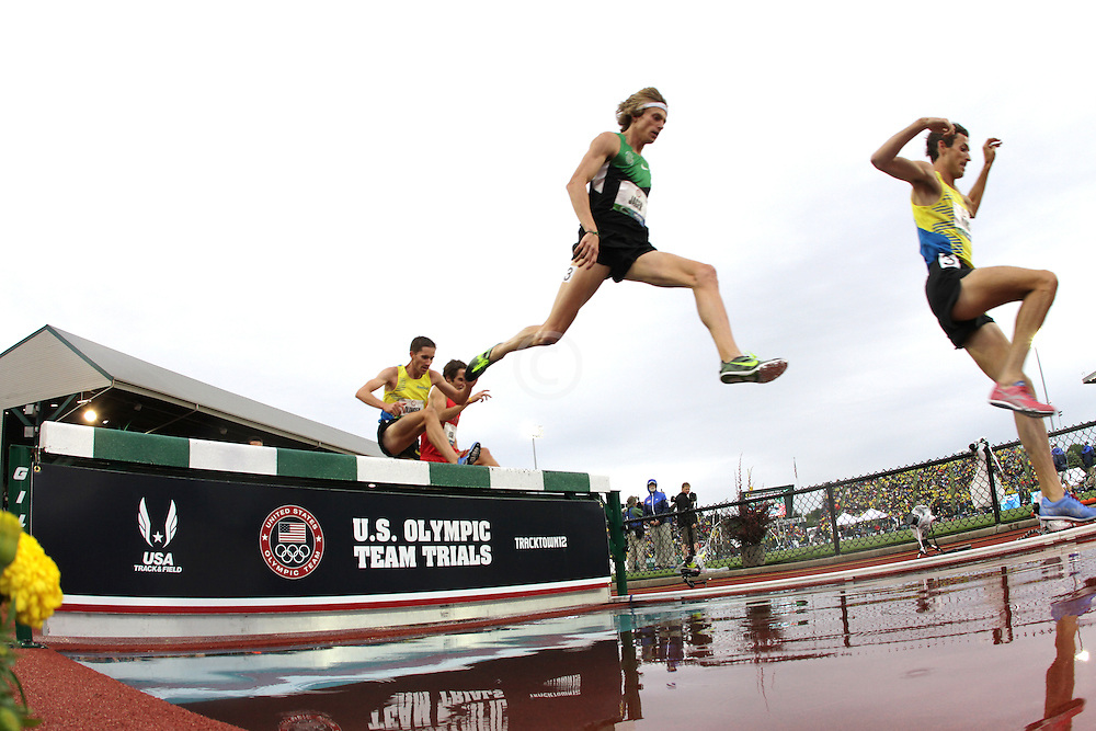 Olympic Trials Eugene 2012: 3000 meter steeplechase, water pit
