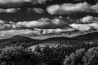 Sangre de Cristo Mountains; from Indian Springs, CO