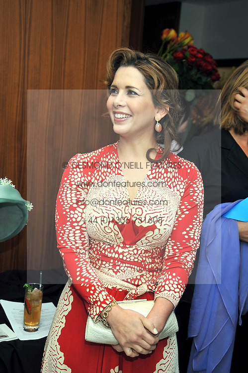 HRH PRINCESS HAYA OF JORDAN at the launch of the 2009 Derby Festival in the presence of HRH Princess Haya of Jordan in aid of the charity Starlight held at the Kensington Roof Gardens, 99 Kensington High Street, London W8 on 12th May 2009.