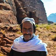 Atik our guide in Wadi Rum desert Jordan.