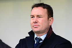 Plymouth Argyle manager Derek Adams - Mandatory by-line: Dougie Allward/JMP - 17/03/2018 - FOOTBALL - Home Park - Plymouth, England - Plymouth Argyle v Bristol Rovers - Sky Bet League One