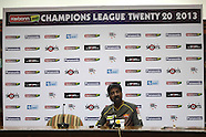 CLT20 - Sunrisers Hyderabad Press Conference and Practice