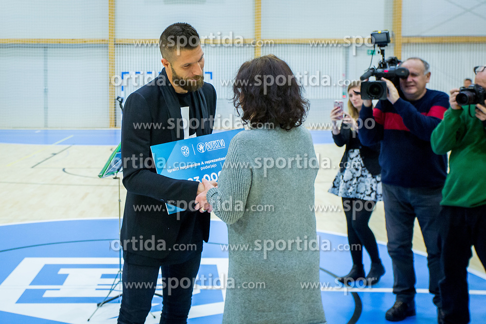 Bostjan Cesar during Opening event of Sports hall Baza, on January 8, 2018 in Sports hall Baza, Ljubljana, Slovenia. Photo by Ziga Zupan / Sportida
