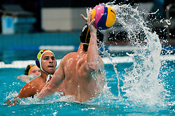 Marc Politze of Germany at water polo match between National men teams of Slovenia and Germany in Qualifications for European Championships in Eindhoven 2012 on June 18, 2011 in Pokriti bazen, Kranj Slovenia. (Photo By Matic Klansek Velej / Sportida.com)