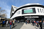 General view outside Ashton Gate Stadium before the EFL Sky Bet Championship match between Bristol City and Leeds United at Ashton Gate, Bristol, England on 9 March 2019.