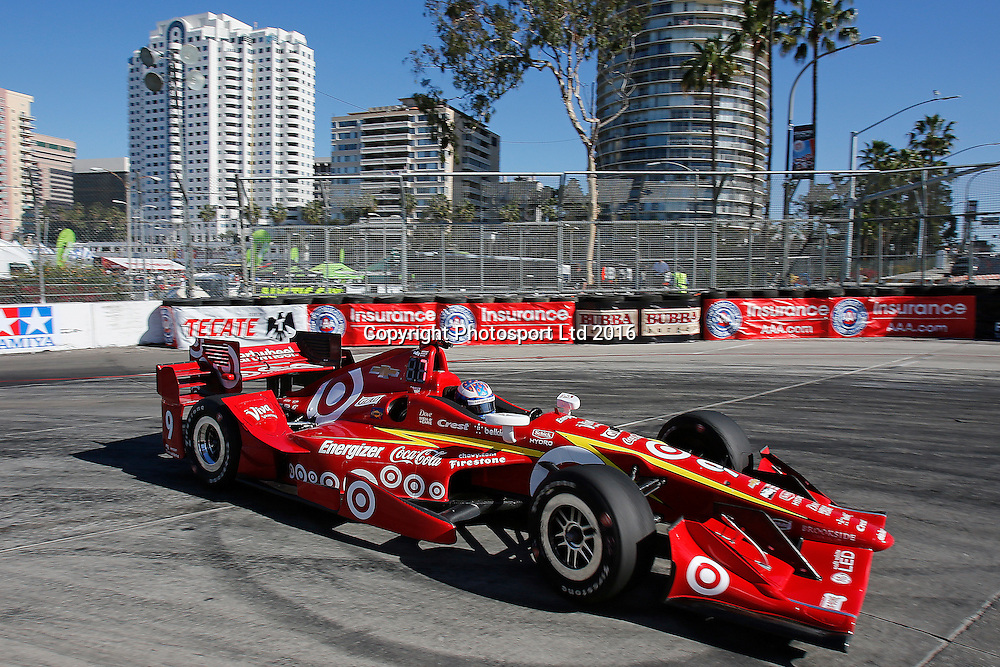 15-17 April, 2016, Long Beach, California USA<br /> 9 Scott Dixon<br /> &copy;2016, Perry Nelson<br /> LAT Photo USA