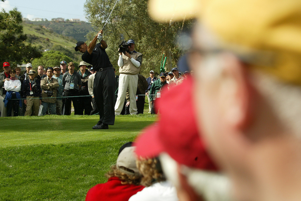 2003 WGC Accenture Match Play Championship..3rd Round..La Costa Resort..February 28, 2003..Photograph by Darren Carroll...Tiger Woods