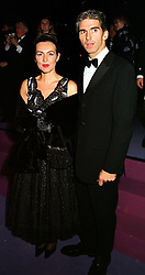 MR & MRS DAMON HILL he is the former F1 World champion, at a ball in West Sussex on 18th September 1999.MWL 55