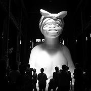 Kara Walker at Domino Sugar Factory, Brooklyn 5/24/14