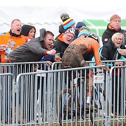 02-02-2020: Wielrennen: WK Veldrijden: Dubendorf<br /> Mathieu van der Poel prolongeerd op overyuigende wijze zzijn wereld titel