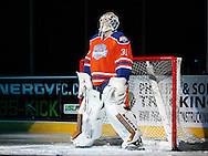 January 16, 2015: The Oklahoma City Barons play the Texas Stars in an American Hockey League game at the Cox Convention Center in Oklahoma City.
