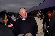 Mayor Ken Livingstone, Anti War Rally, Hyde Park. 15 February 2003. © Copyright Photograph by Dafydd Jones 66 Stockwell Park Rd. London SW9 0DA Tel 020 7733 0108 www.dafjones.com