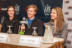 USATF Road Championship, press conference, Tyler Pennel