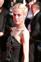 Aymeline Valade at the Palme d'Or  Closing Awards Ceremony red carpet at the 67th Cannes Film Festival France. Saturday 24th May 2014 in Cannes Film Festival, France.