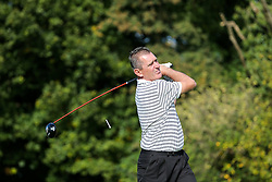 Stuart Naylor of Bristol Rovers joins team Maple's Muppets as they take part in the annual Bristol Rovers Golf Day - Rogan Thomson/JMP - 10/10/2016 - GOLF - Farrington Park - Bristol, England - Bristol Rovers Golf Day.