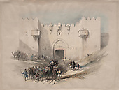 David Roberts images from the Holy Land