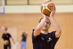 Daniel Vujasinovic during practice session of Slovenian National Basketball team during training camp for Eurobasket Lithuania 2011, on July 12, 2011, in Arena Vitranc, Kranjska Gora, Slovenia. (Photo by Vid Ponikvar / Sportida)