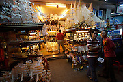 Model ship shops at Lam Son Square.