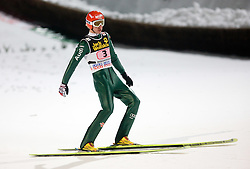 Michael Uhrmann (GER) competes during Final round of the FIS Ski Jumping World Cup event of the 58th Four Hills ski jumping tournament, on January 6, 2010 in Bischofshofen, Austria. (Photo by Vid Ponikvar / Sportida)
