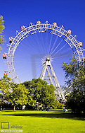 "Giant Ferry Wheel (""Riesenrad""), Prater Vienna, Austria, Vienna, 2. district, Prater"
