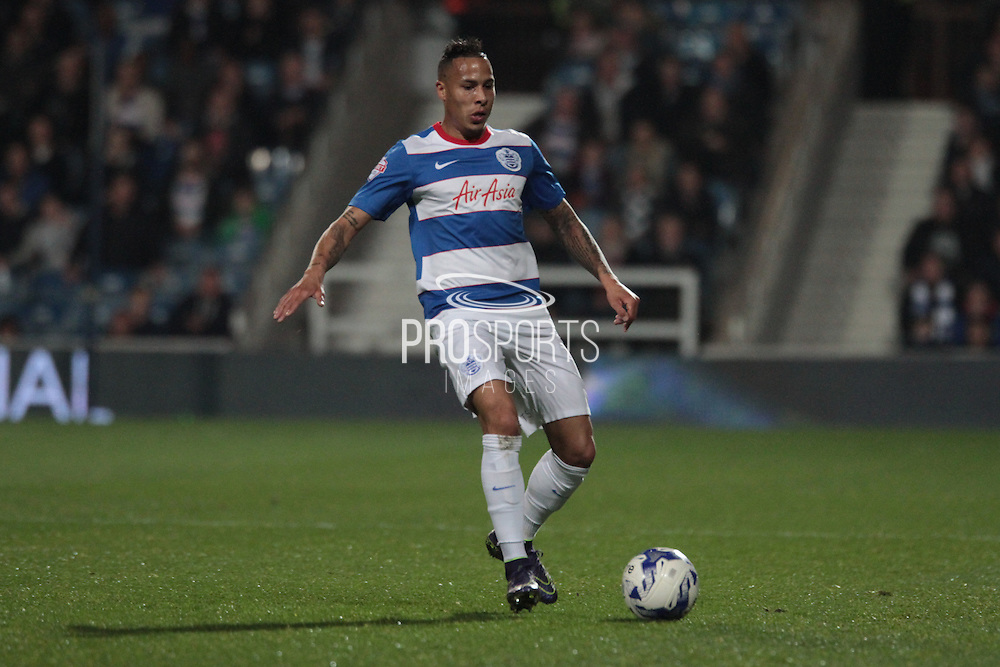 Queens Park Rangers midfielder Massimo Luongo during the Sky Bet Championship match between Queens Park Rangers and Sheffield Wednesday at the Loftus Road Stadium, London, England on 20 October 2015. Photo by Jemma Phillips.